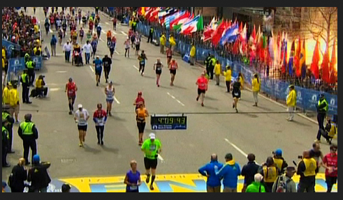 boston mathaon race  1